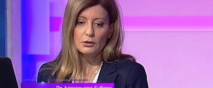 "Dr Aleksandra Bubera gostovala u emisiji Studio znanja na temu  ""Sneg"", RTS, 1.03.2019."