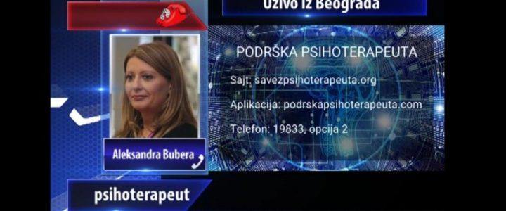 Dr Aleksandra Bubera Ninić o psihičkom, fizičkom i seksualnom zlostavljanju i nasilju u emisiji KCN popodne